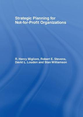 Strategic Planning for Not-for-Profit Organizations