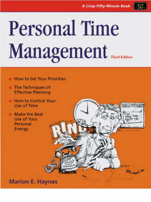 Personal Time Mgmt 3e-50 Min