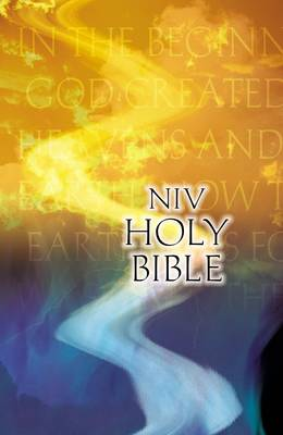 NIV, Outreach Bible, Paperback, Orange/Blue