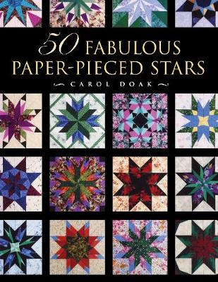 50 Fabulous Paper-Pieced Stars: With Free CD