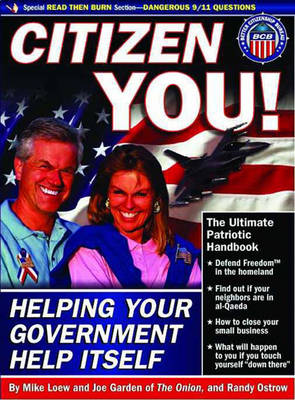 Citizen You: Helping Your Government Help Itself