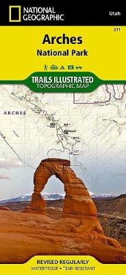 Arches National Park: Trails Illustrated National Parks