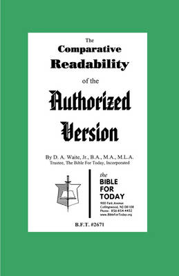 The Comparative Readability of the Authorized Version