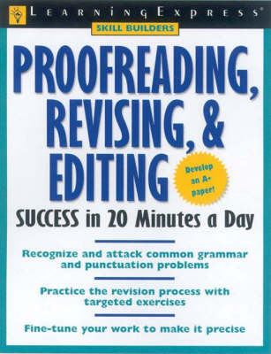 Proof Reading, Revising and Editing Success