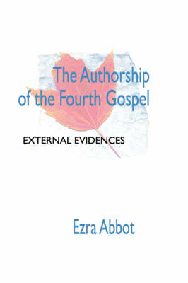 Authorship of the Fourth Gospel