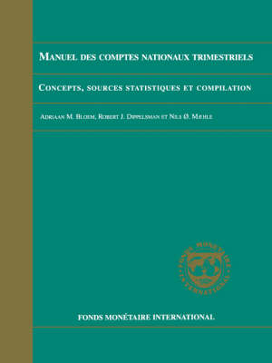 Quarterly National Accounts Manual: Concepts, Data Sources, and Compilations