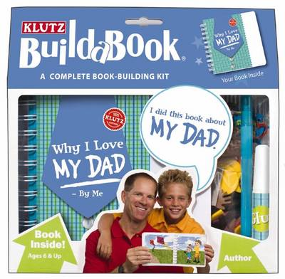 Build-a-book: Why I Love My Dad