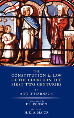 Constitution and Law of the Church in the First Two Centuries