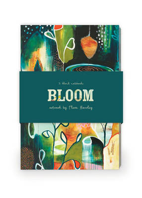 Bloom Artwork by Flora Bowley Journal Collection 2: Set of Two 64-Page Notebooks
