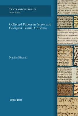 Collected Papers in Greek and Georgian Textual Criticism