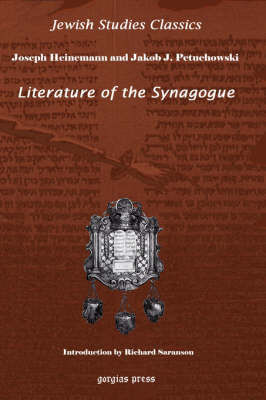 Literature of the Synagogue