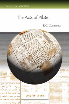 The Acts of Pilate