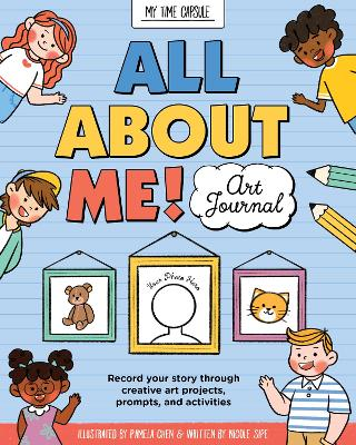 All About Me: Tell the future you all about your current self with these fun drawing and journal prompts