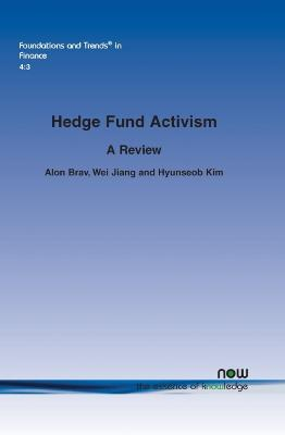 Hedge Fund Activism: A Review