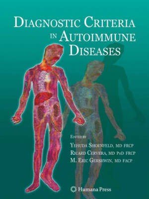 Diagnostic Criteria of Autoimmune Diseases