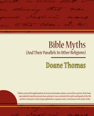 Bible Myths (and Their Parallels in Other Religions)