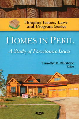 Homes in Peril: A Study of Foreclosure Issues