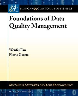 Foundations of Data Quality Management
