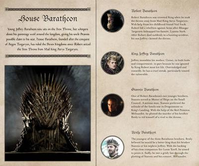 Game of Thrones Ruled Journal: House of Baratheon