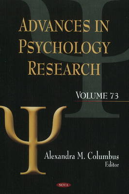 Advances in Psychology Research: Volume 73