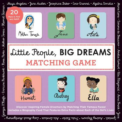 Little People, BIG DREAMS Matching Game: Put Your Brain to the Test with All the Girls of the Little People, BIG DREAMS Series!
