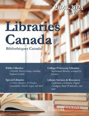 Libraries Canada, 2020/21