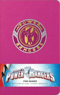 Power Rangers: Pink Ranger Hardcover Ruled Journal