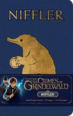 Fantastic Beasts: The Crimes of Grindelwald: Niffler Ruled Pocket Journal