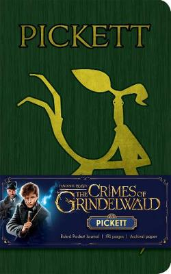 Fantastic Beasts: The Crimes of Grindelwald: Pickett Ruled Pocket Journal
