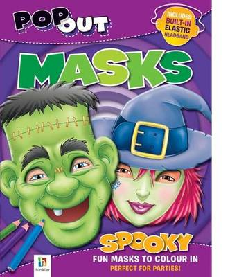 Pop-out Masks: Spooky