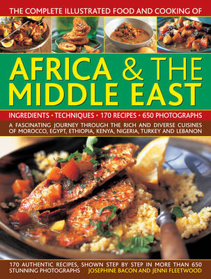 Comp Illus Food & Cooking of Africa and Middle East