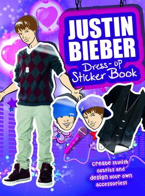 Justin Bieber Sticker Dress-Up Book