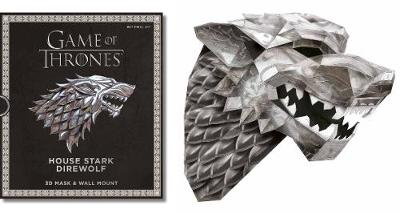 Game of Thrones Mask: House Stark Direwolf