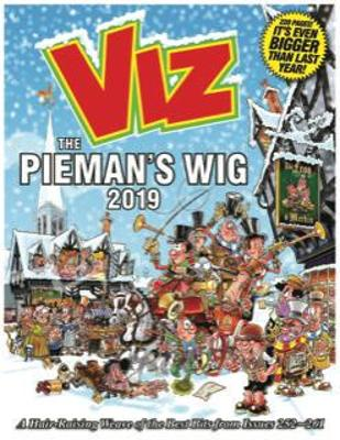 Viz Annual 2019 The Pieman's Wig: A Hair-Raising Weave of the Best Bits from Issues 252~261