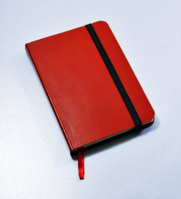Monsieur Notebook Leather Journal - Red Plain Small A6