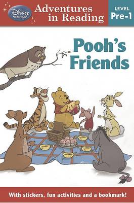 Disney Level Pre-1 for Girls - Winnie the Pooh Pooh's Friends