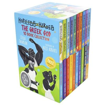 Hopeless Heroes: The Greek God 10 Book Collection
