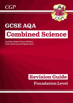 Grade 9-1 GCSE Combined Science: AQA Revision Guide with Online Edition - Foundation