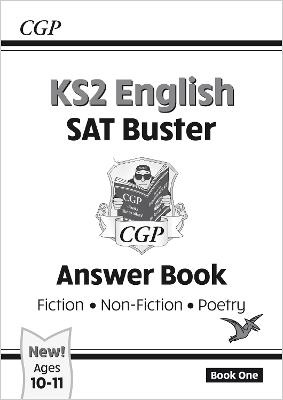 New KS2 English Reading SAT Buster: Answer Book (for the 2019 tests)