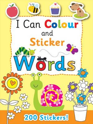 I Can Colour - My First Words