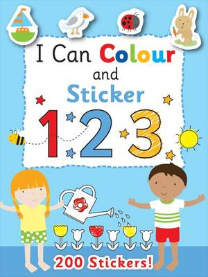 I Can Colour - My First Numbers