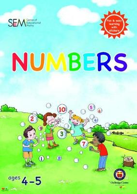 Set of 4 Reception Maths Books: Learning to count and add