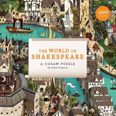 The World of Shakespeare: 1000-Piece Jigsaw Puzzle