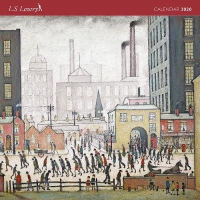 L S Lowry 12 Month Wall Calendar 2020