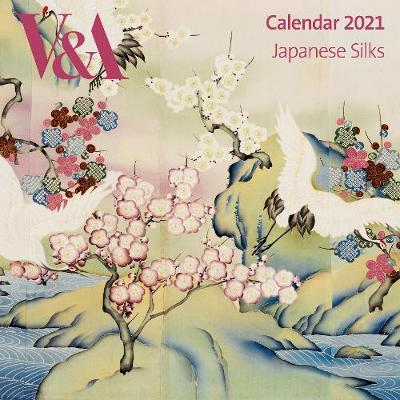 V&A Japanese Silks Wall Calendar 2021