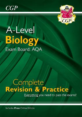 A-Level Biology: AQA Year 1 & 2 Complete Revision & Practice with Online Edition