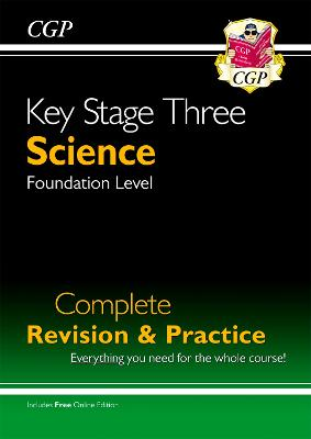 KS3 Science Complete Revision & Practice - Foundation (with Online Edition)