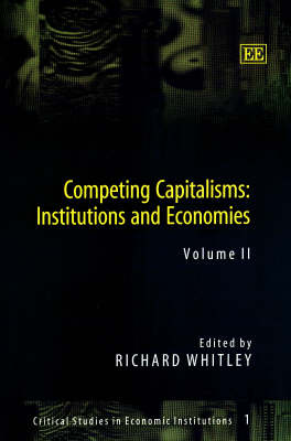 Competing Capitalisms: Institutions and Economies