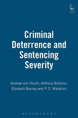 Criminal Deterrence and Sentencing Severity: An Analysis of Recent Research