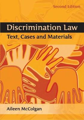 Discrimination Law: Text, Cases and Materials
